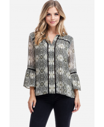 Fever Printed Blouse