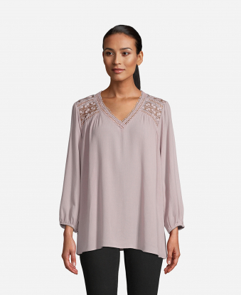 JohnPaulRichard Dusty Rose Blouse