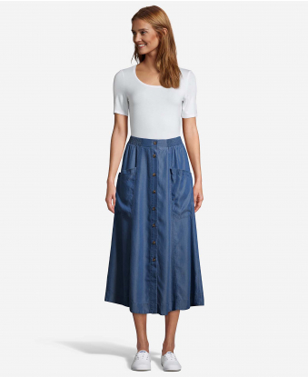 JohnPaulRichard Button Front Skirt