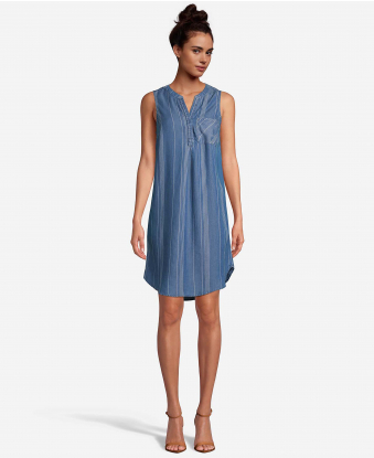 JohnPaulRichard Blue Shirt Dress