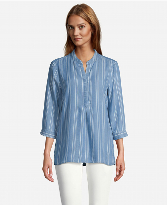 JohnPaulRichard Blue Oversized Shirt