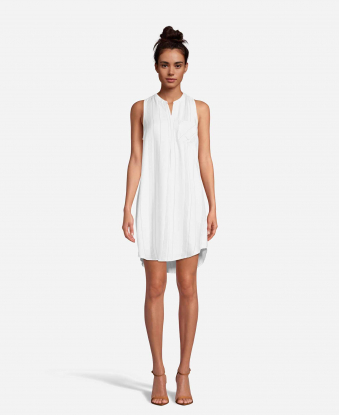 JohnPaulRichard Ivory Shirt Dress