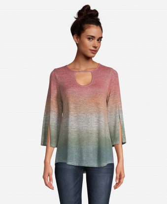 JohnPaulRichard Dip Dye Top